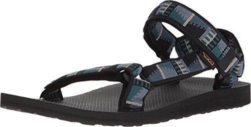 Teva Men's Minimalist Sport Sandals, Peaks Black