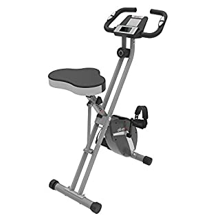 ATIVAFIT Indoor Cycling Bike Folding Magnetic Upright Bike