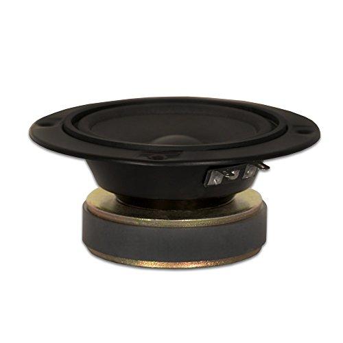 Goldwood Sound 120 Watt 8ohm Poly Mica 5' Speaker Midrange Black (GM-85/8)