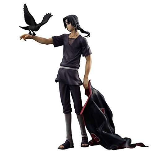 EASTVAPS Bonecos Figura Naruto Uchiha Itachi Figura de acción Colección 230 mm Modelo Anime