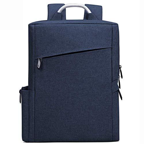 ZXL Herenrugzak - Zakelijke reistas - Laptoptas, marineblauw/blauw grijs 28cm*37cm*10cm marineblauw
