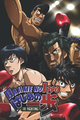 Hajime no Ippo New Challenger Notebook: (110 Pages, Lined, 6 x 9)