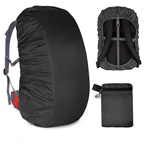 Funda impermeable para mochila, 30 – 40 l, para senderismo, camping, viajes, ciclismo, diseño de bolsa de transporte integrada