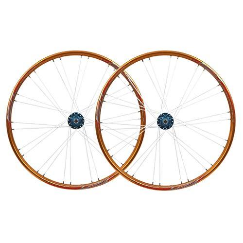 TYXTYX Juego de Ruedas de Bicicleta 26 Pulgadas 11 velocidades MTB Ciclismo Llantas 559 Freno de Disco Rueda de Bicicleta Buje de rodamiento Sellado QR