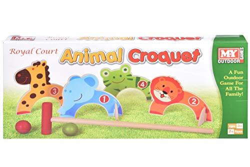 KT M.Y Outdoor Games - Animal Croquet - Kinder Outdoor Games