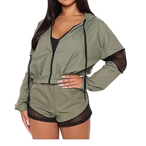 Chaqueta de verano casual para mujer, chaqueta de deporte, chaqueta cómoda