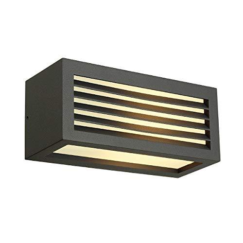 SLV wandlamp BOX-L roest