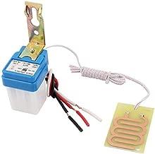 DC 5V 10A lluvia Detector de Auto On Off interruptor del sensor de detección de la gota de agua