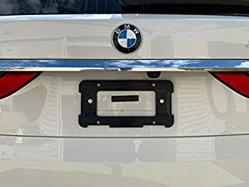 Rear License Plate Base Mount Bracket for BMW 1 Series 2 Series 3 Series + 6 Unique Screws & Wrench