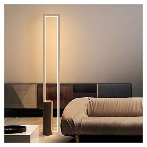 ZGP-LED Luces de piso Lámpara de pie Lámpara de control remoto sin pasos de atenuación vertical del vector de la lámpara de lectura Inicio Sala de estar sofá del dormitorio de iluminación de la decora