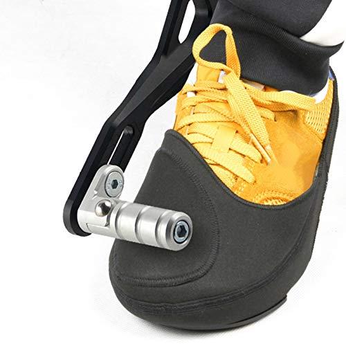 Chinejaper - Copriscarpe da moto, per stivali e stivali da moto, protezione antiscivolo