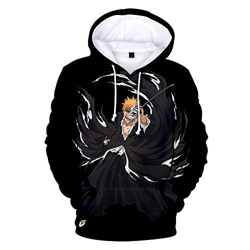 SHANYUR Sudaderas con Capucha para Hombre 3D Impreso Graffiti Bolsillos con cordn Sudaderas de Mangas Largas Parca Jersey Unisex PerifRico con Capucha XXS-XXXL