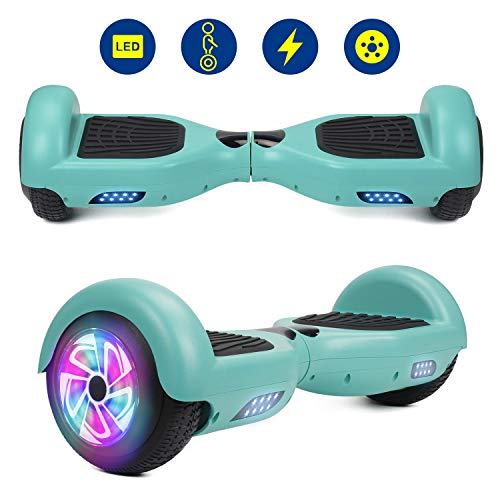 YHR Hoverboards UL2272 Certified with LED Wheel 6.5inch Self Balancing Hoverboard for Kids