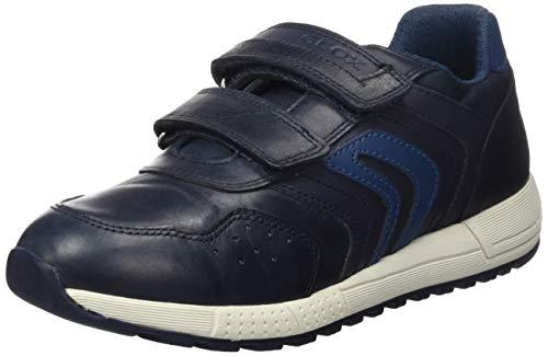 Geox J ALBEN Boy E, Sneaker, (Navy/Dk Avio), 30 EU