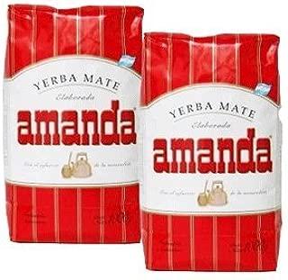 Amanda Yerba Mate 1 Kilo 2-pack