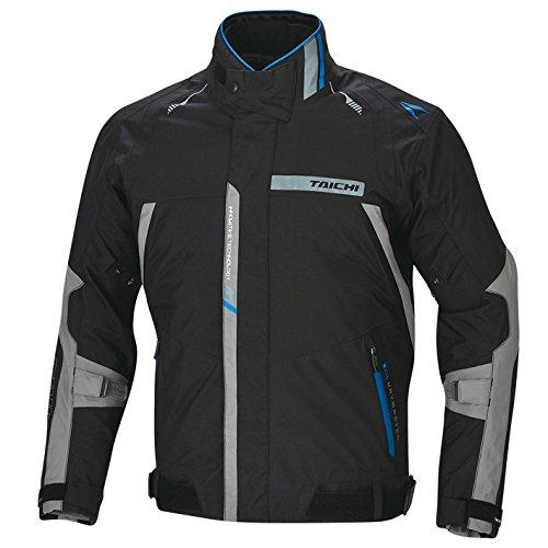RSタイチ(アールエスタイチ)バイクジャケット ブラック/ブルー (M) ドライマスター プライム オールシーズンジャケット RSJ298
