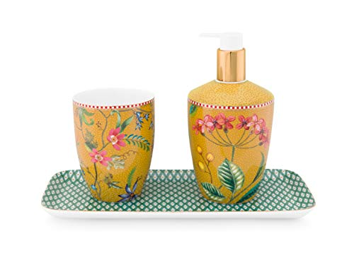 PiP Studio Set/3 Bathroom Accessories Petites Fleurs