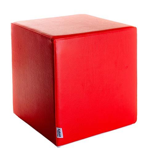 Kaikoon -   Sitzwürfel Rot