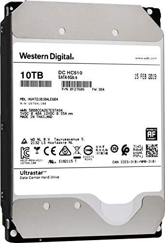 HGST WD Ultrastar DC HC510 10TB 7200 RPM SATA 6Gb/s 3.5' Helium Platform Enterprise Hard Disk Drive - HUH721010ALE604 (0F27606)