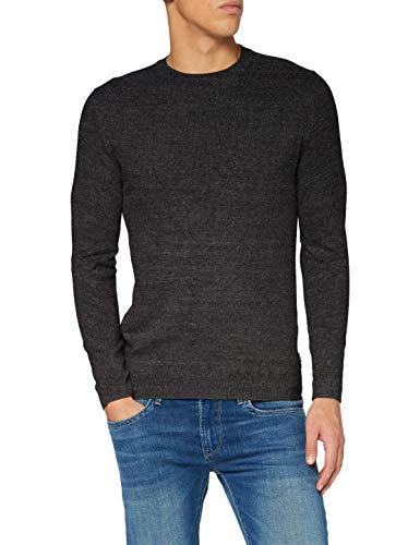 Superdry Män orange etikett Crew tröja tröja