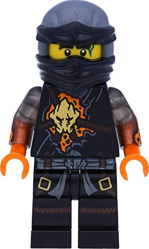 LEGO Ninjago Minifigur Cole RX mit Schwertern