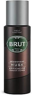 Brut Deodorant Spray for Men, Musk, Authentic, Elegant Musky Fragrance, Long Lasting Deo, 200 ml
