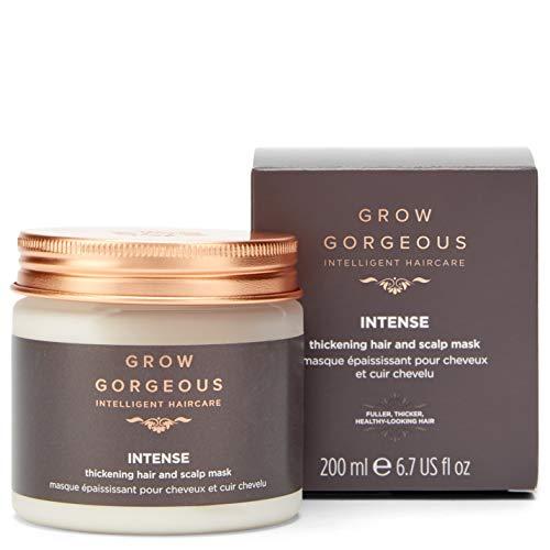 Grow Gorgeous Intensiv verdickende Haar- und Kopfhaut Maske, 200 ml