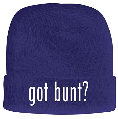 BH Cool Designs got Bunt? - Men's Soft & Comfortable Beanie Hat Cap, Blue, One Size