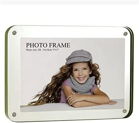 Free Standing Double Sided Display safety Spring new work Acrylic Magnet Perspex Photo