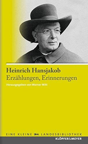 Erzählungen, Erinnerungen (Eine kleine Landesbibliothek)