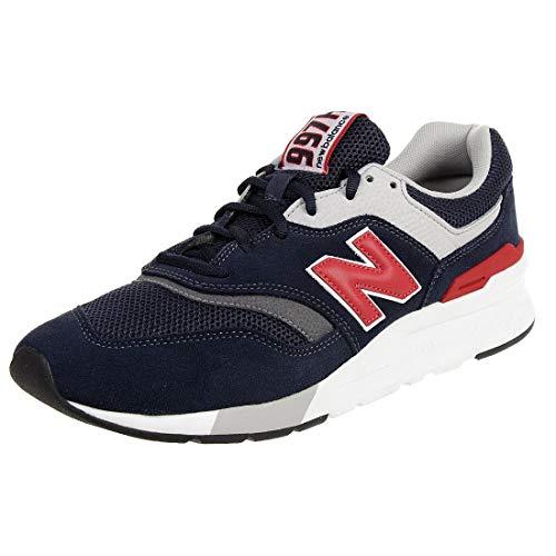 New Balance CM997HDM, Trail Running Shoe Hombre, Azul Rojo, 32 EU