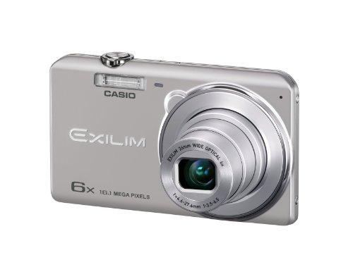 CASIO EXILIM デジタルカメラ 1610万画素CCD 広角26mm 光学6倍ズーム シルバー EX-ZS25SR
