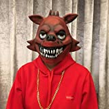 Naoshima Masque Cosplay Freddy Foxy Chica Freddy Ours Animal Masque Cadeau for Les Adultes Halloween Costume Party Props drôle, Couleur: 3 (Color : 3)