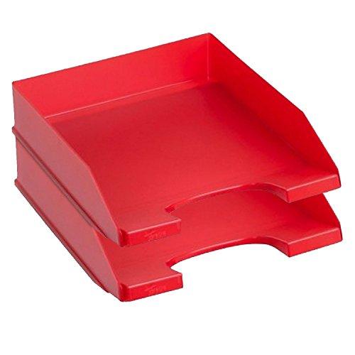 Archivo 2000 092758 - Bandeja de sobremesa, color roja