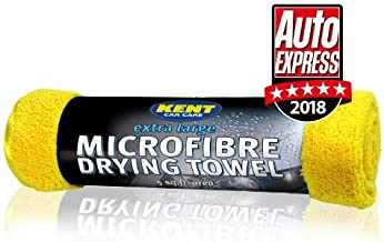 Kent Car Care Microfibre Drying Towel Extra Large5 Sq Ft