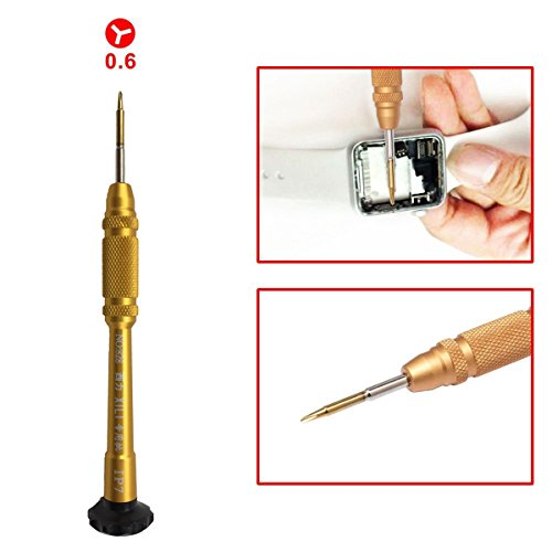 Youletao Y Tip Y000 Tri-Point Triwing Y-förmiger Magnetischer Tri Schraubendreher Demontage-Werkzeug für iPhone 7 7 Plus 8 8 Plus X