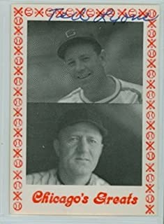Ted Lyons AUTOGRAPH d.86 TCMA Chicago's Greats Chicago White Sox