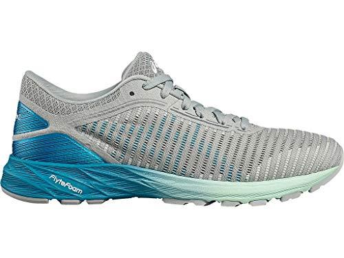 ASICS Women's Dynaflyte 2 Running Shoes, 9.5M, MID Grey/Arctic Aqua/Glacier S