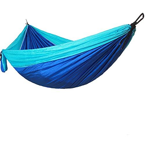 Aiong Hamaca, Hamaca de paracaídas para Acampar Viaje para Dormir Hamaca Doble Exquisito Durable Portátil