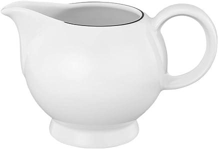 Preisvergleich für Seltmann Weiden Milchkännchen 0,23 L - Lido, Hartporzellan, Schwarz, 12.8 x 8.5 x 8.2 cm