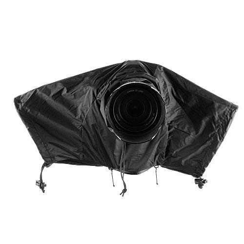 Runshuangyu DSLR Camera Waterproof Rain Cover Protector, for Sony Canon Nikon Leica Q EOSM3 Fujifilm Olympus Panassonic DSLR Camera and More - Lens Room: 7.1in x 3.9in (L x W)