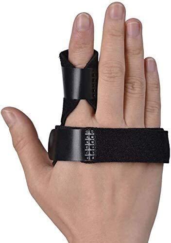 AY Férgulos de los Dedos del gatillo, la inmovilización de los Nudillos de los Dedos, la Abrazadera incorporada de Soporte de Aluminio para Alisar Las Manos curvadas, dobladas, bloqueadas y estenosos