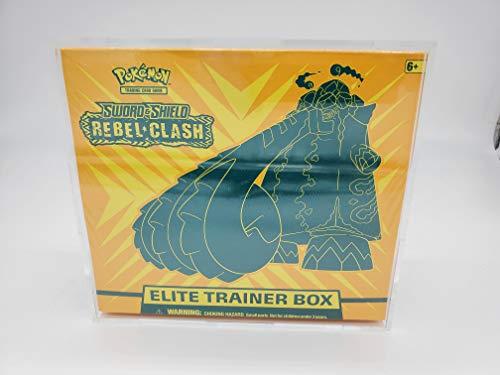 Pokemon Acrylic Premium Elite Trainer Box Display Case Box Quality/Framing Acrylic Grade