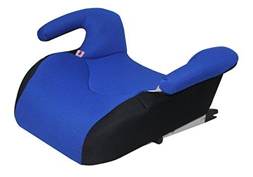 Phenix Edi-Fix Autositzerhöhung Isofix Befestigungssystem, Gruppe II und III, 15-36 kg, Phenix, ECE 44/04 geprüft, mesh bezug, blau