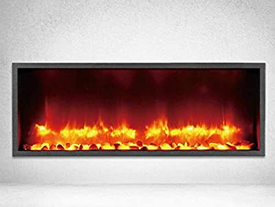DYNASTY Built-in Linear Electric Fireplace