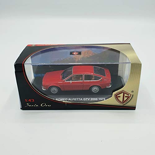 Edison Giocattoli MODELLINO Alfa Romeo ALFETTA GTV 2000 1976 1:43