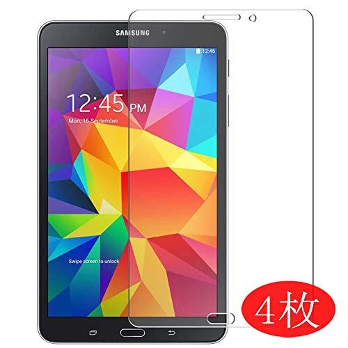 Vaxson 4 Stück Schutzfolie kompatibel mit Samsung Galaxy Tab 4 8.0 3G SM-T331 T330 T335, Displayschutzfolie Bildschirmschutz Blasenfreies TPU Folie [Nicht Panzerglas]