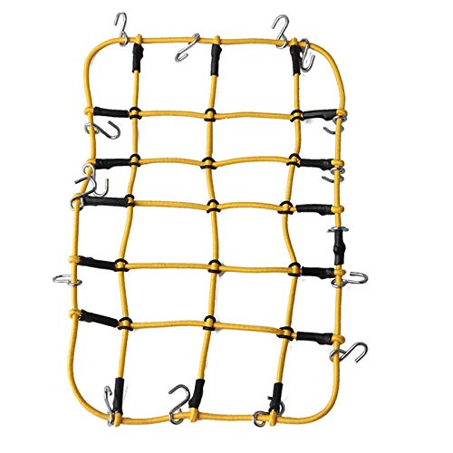 ouying1418 1/10 RC Rock Crawler Luggage Roof Rack Net For D90 D110 Traxxas TRX-4 Trx4