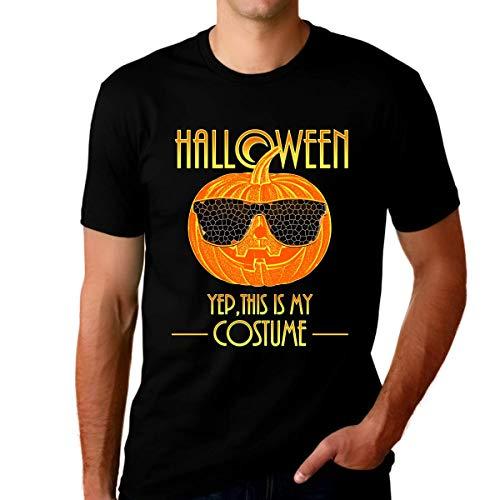 Fire Fit Designs Camisas de Halloween para hombres – Disfraces de Halloween para hombres – Camisas de Halloween 2020 – Ropa de Halloween para hombres - Negro - XX-Large