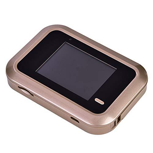 Jinyi Timbre de Puerta con Video, Mirilla de Puerta Digital, Mirilla de Puerta pequeña, Visor de Puerta, Visor de Timbre Inteligente, para la Seguridad del hogar de la casa Familiar